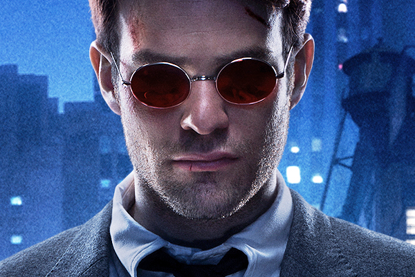 256d3e57916c5 The red lens glasses that Charlie Cox wears for his Matt Murdock aka  Daredevil role are custom made for the Netflix show. Stephanie Maslansky